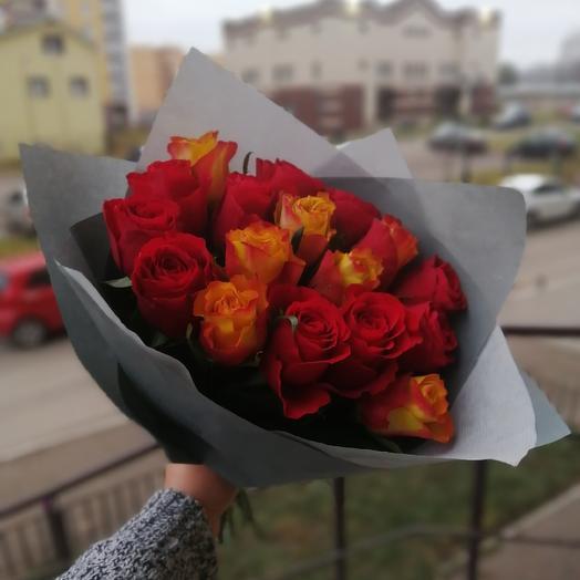 17 роз 🌸 🌸 🌸: букеты цветов на заказ Flowwow