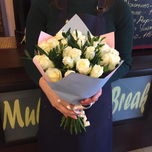 27 идеальных роз: букеты цветов на заказ Flowwow