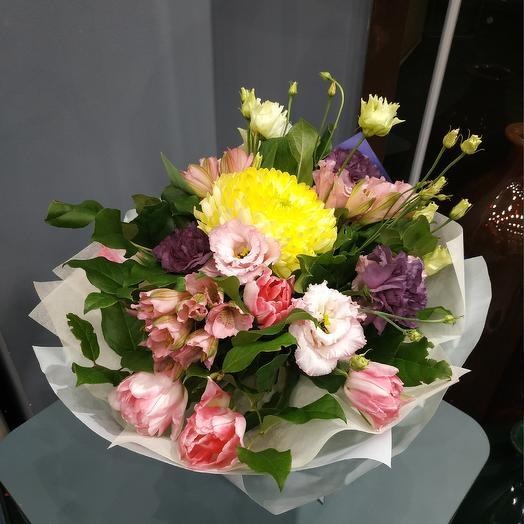 """Букет для радости- """"Вдохновение"""": букеты цветов на заказ Flowwow"""