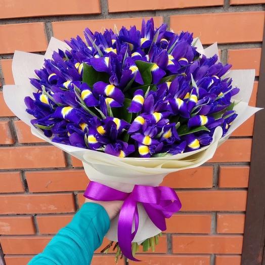Синева глаз: букеты цветов на заказ Flowwow