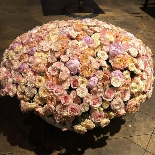 Корзина XXXXL: букеты цветов на заказ Flowwow