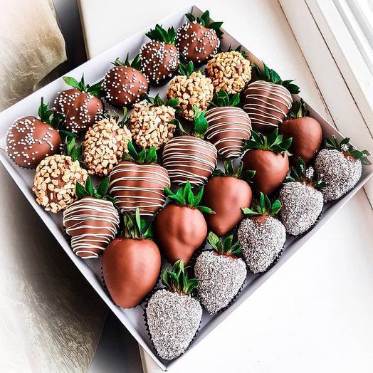 Набор из Клубники в Шоколаде L