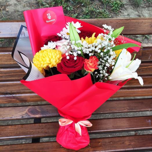 Букет цветочный рай 💐