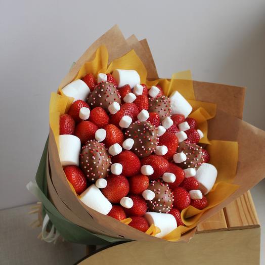 "Strawberry bouquet ""Mood"""