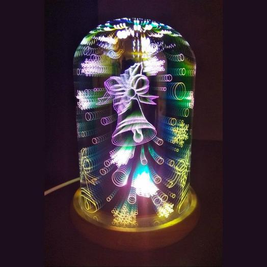 3D светильник Колокольчик