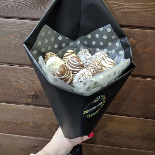 Bouquet Of Sweet Strawberries