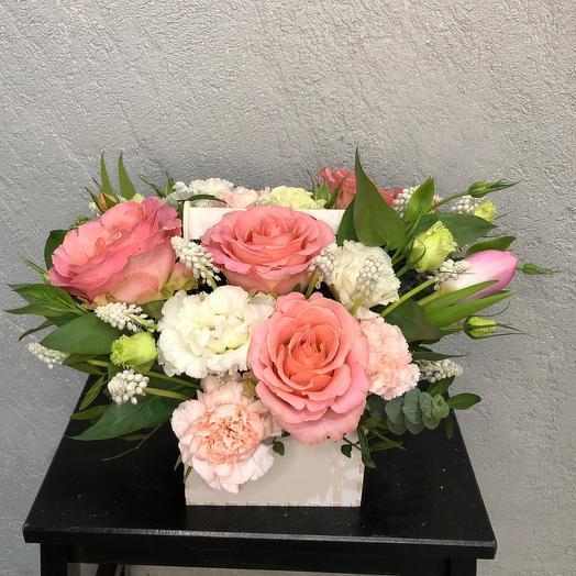 Розовый иней