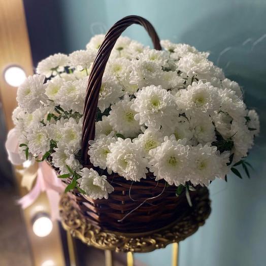 Корзина с цветами «Алтай»