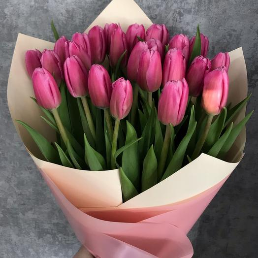 Тюльпаны 25 штук