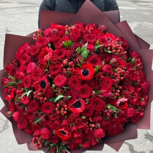 Букет цветов сборный