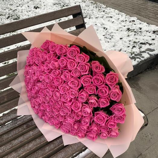 Букет из розы  101
