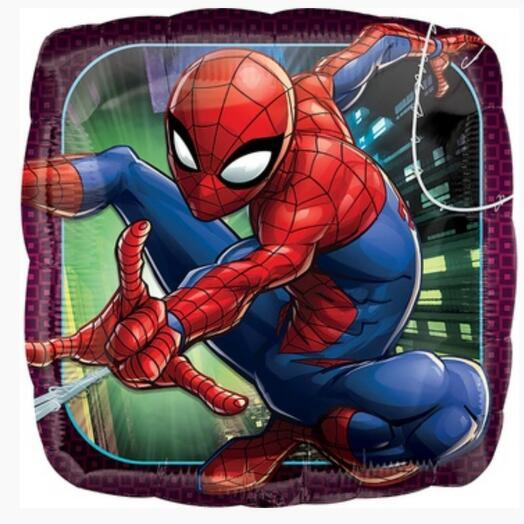 """Шар квадрат 18"""" Человек-паук"""