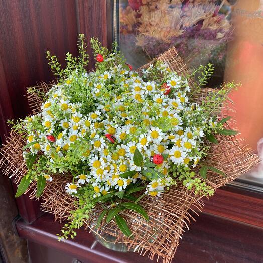 Букетик цветов Ромашечки