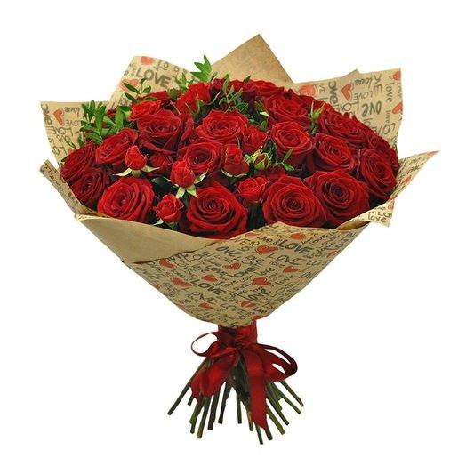 Букет Мулен Руж: букеты цветов на заказ Flowwow