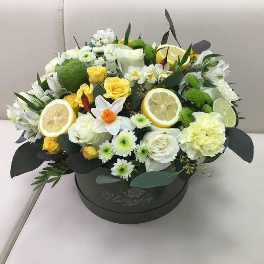 Сочный лимон: букеты цветов на заказ Flowwow
