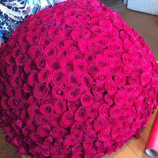 333 роз: букеты цветов на заказ Flowwow