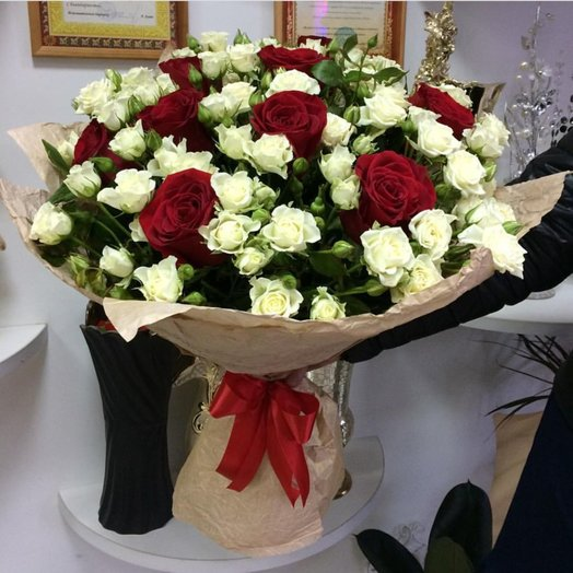Букет Ангел: букеты цветов на заказ Flowwow