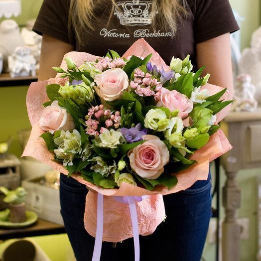 Букет цветов Сама нежность: букеты цветов на заказ Flowwow