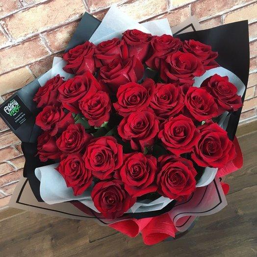 """Букет """"Пламя страсти"""": букеты цветов на заказ Flowwow"""
