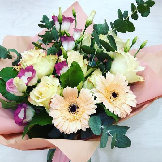 Букет нежное утро: букеты цветов на заказ Flowwow