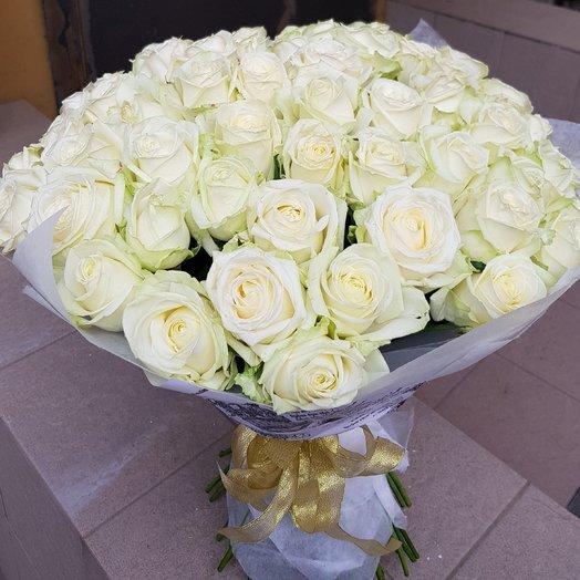 Белая дымка: букеты цветов на заказ Flowwow