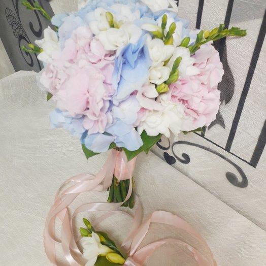 Букет невесты Облако: букеты цветов на заказ Flowwow