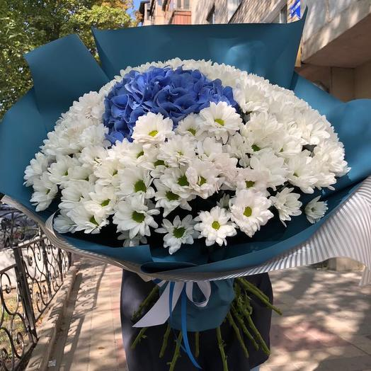 Гортензия в облаке: букеты цветов на заказ Flowwow