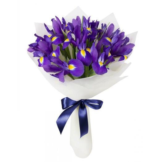"""Цвет настроения """"Ирис"""": букеты цветов на заказ Flowwow"""