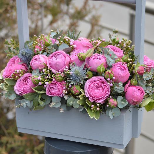Нефритовая шкатулка: букеты цветов на заказ Flowwow
