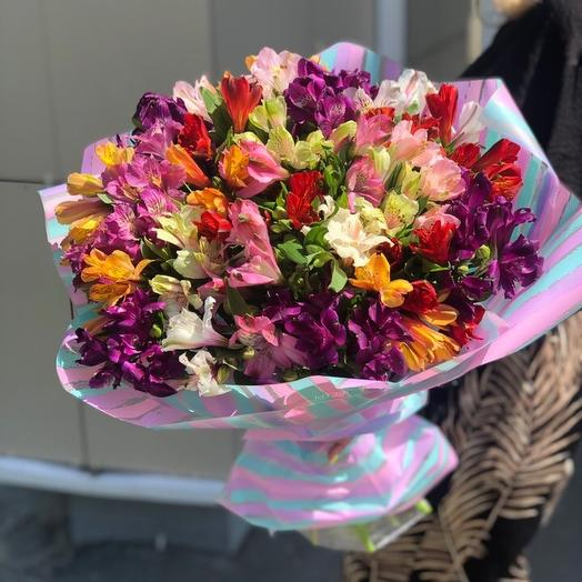 35 шт альстромерия: букеты цветов на заказ Flowwow