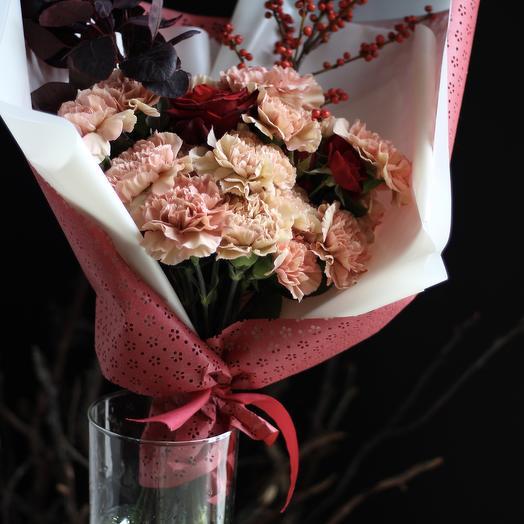 Букет Осенний Диантус: букеты цветов на заказ Flowwow