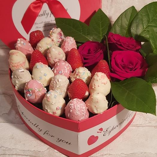Романтический вечер: букеты цветов на заказ Flowwow