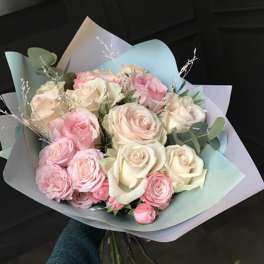 Ну очень нежный букет 💕: букеты цветов на заказ Flowwow