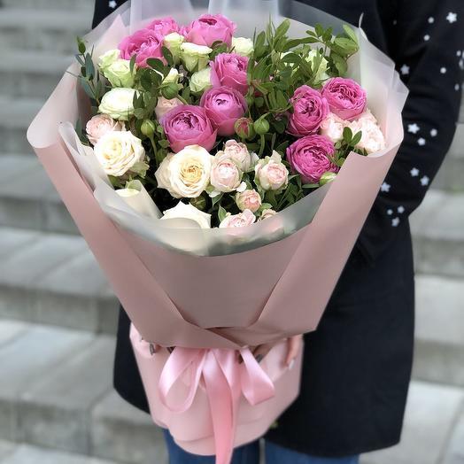 Садовый микс: букеты цветов на заказ Flowwow