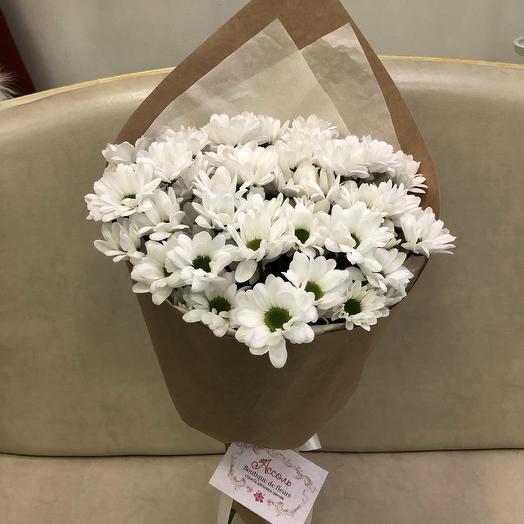 Кулёк из 7 кустовых хризантем