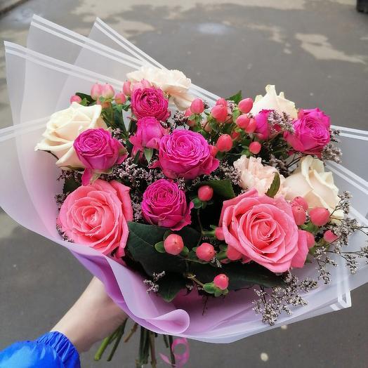 Ягодный микс🍓: букеты цветов на заказ Flowwow