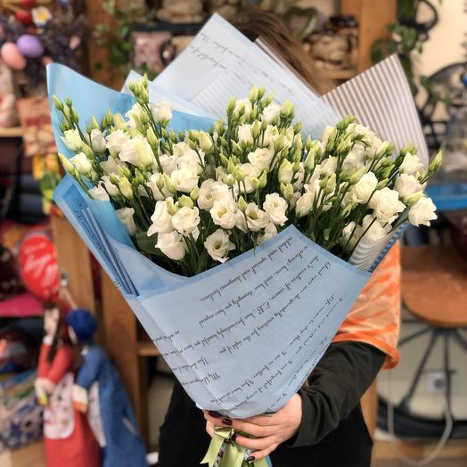 BIG BLUE MONO: букеты цветов на заказ Flowwow