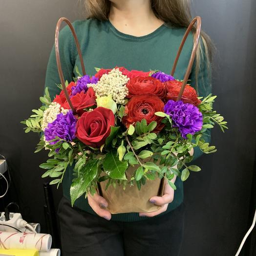 Лунная соната: букеты цветов на заказ Flowwow