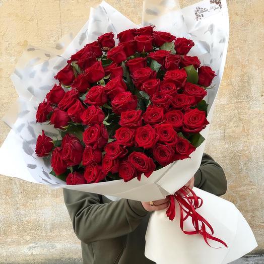 55 classic roses