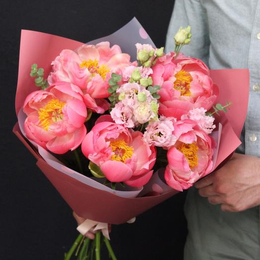 Пионы «giorni contati»: букеты цветов на заказ Flowwow