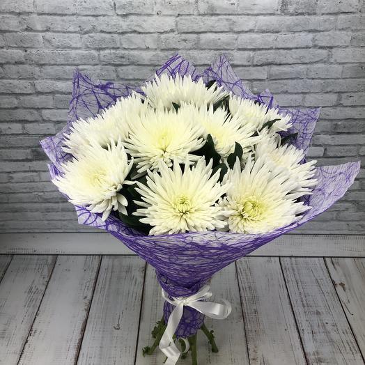 Букет из белоснежной Анастасии: букеты цветов на заказ Flowwow