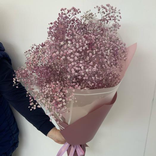 Гипсофила Розовая: букеты цветов на заказ Flowwow