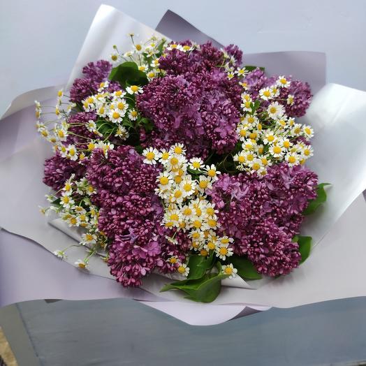 Сирень потом: букеты цветов на заказ Flowwow
