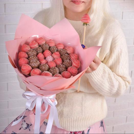 Букет «Розовая мечта»
