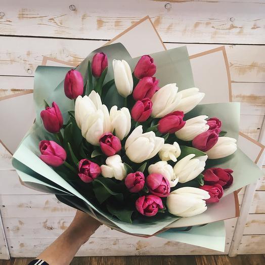 Букет 31 тюльпан