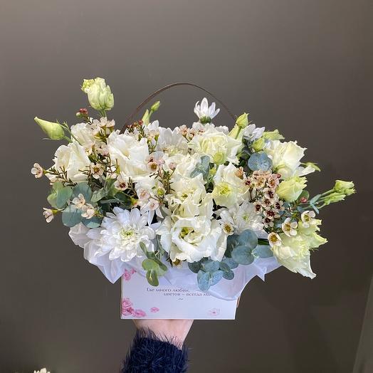 Сумочка «Где много любви - Цветов всегда мало»