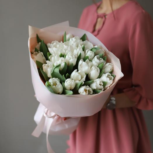Тюльпан белоснежка