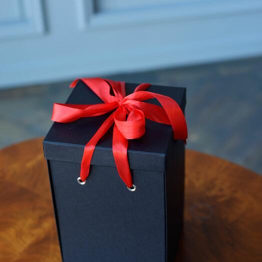 Подарочная коробка Premium, черная WoW Эффект