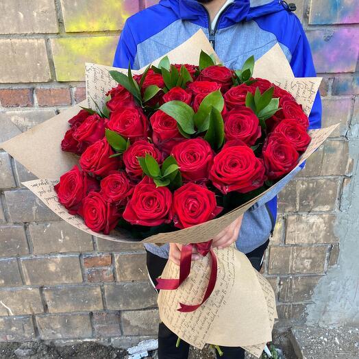 51 роза красивая