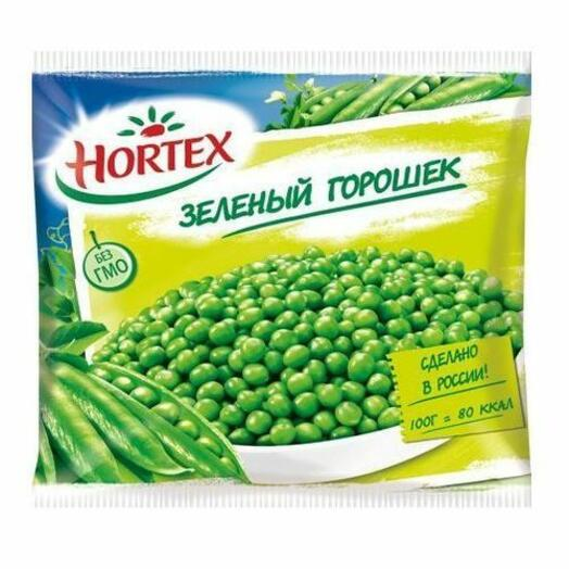 Горошек зеленый быстрозамороженная 400 гр